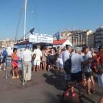 VISITE DES   CALANQUES DE MARSEILLE   avec PROMENADE EN MER Le 24/08/2011