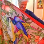 Hobbie – Passion: Raymonde s'adonne à la peinture sur soie