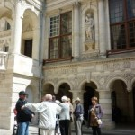 Visite de l'hôtel de ville de La Rochelle