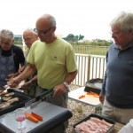 INAUGURATION DU BARBECUE