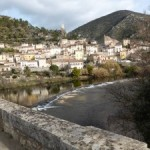 La fête des Mimosas à Roquebrun
