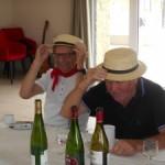 Chapeau pour la guinguette